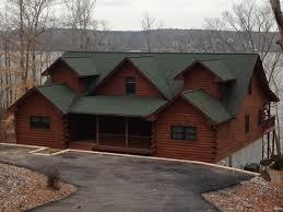 logcabin homes log cabins cedar sided homes renew crew of lake gaston kerr