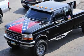 Confederate Flag Pickup Truck Diesel Motorsports Rebel Rebel Diesel Motorsports