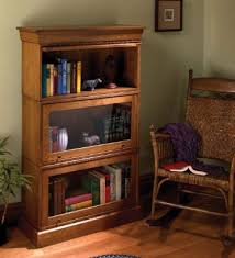 Lawyers Bookcase Simple Barrister Bookcases Popular Woodworking Magazine
