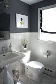 downstairs bathroom ideas before and after updating a half bath and laundry hardware