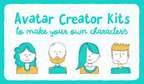 avatar creator kits to make your own characters creative market