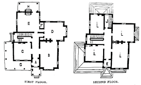 second empire floor plans second empire home plans a home plan rear elevation second empire