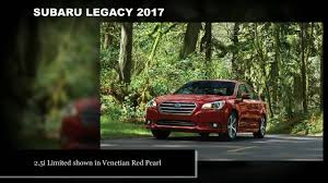 Subaru Legacy Redesign 2017 Subaru Legacy Preview Exterior And Interior Youtube