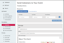 email invites send email invites u2013 ticketbud help center