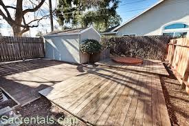 Enclosed Backyard 1230 57th Street Sacrentals Com 916 454 6000