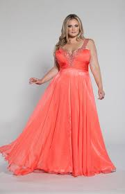 plus size coral dress for wedding cutethickgirls plus size fancy dresses 17 plussizedresses
