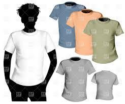 t shirt design template royalty free vector clip art image 5316