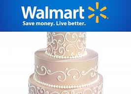 wedding planning walmart serves up wedding cakes blackbride com