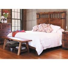 Parota Complete Queen Bed QBED Artisan Home QHB QFB AFW - Artisan home furniture
