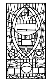 beauty and the beast stained glass coloring page u203a bedroompict info