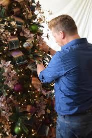 Christmas Tree Ribbon Decorating Ribbon Decorating Tips With Brad Schmidt