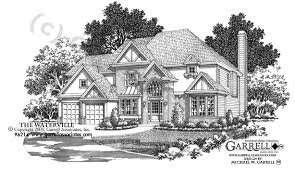 English Style House Plans by Waterville House Plan House Plans By Garrell Associates Inc