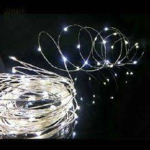 check out the deal on 60 cool white led string lights battery
