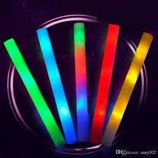 light sticks led light sticks colorful rods light cheering glow foam