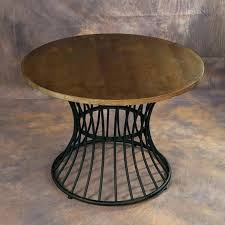 wood and wrought iron table round wrought iron table standardhardware co