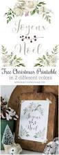 joyeux noel free christmas printable 2 different colours so