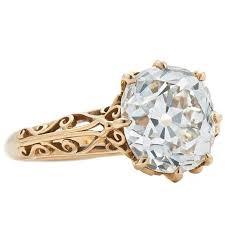 filigree engagement ring fred leighton 4 61 carat j vs1 mine diamond filigree