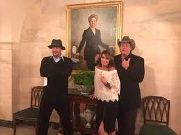 band of hillbillies gains access to white house u2014 president safe