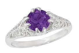 amethyst engagement rings amethyst engagement rings antique amethyst engagement rings