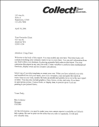 Business Letter Cover Page Letter From A Company Template