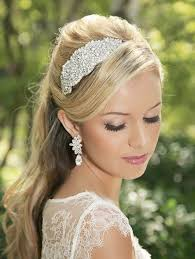 vintage bridal hair glam bridal hair accessories rhinestone band vintage