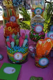 Birthday Candy Buffet Ideas by Luau Candy Buffet Buffet Ideas 13th Birthday And Buffet
