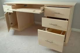 Maple Office Desks Made Maple Office Desk By Clark Wood Creations Custommade