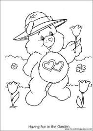 care bears coloring care bears u0026 cousins care