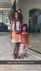 north west and penelope disick celebrate birthdays with moana