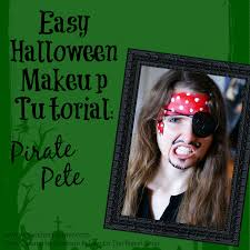 Pirate Halloween Makeup Ideas by Southern In Law Diy Four Easy Halloween Face Painting Tutorials