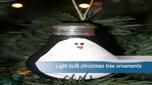 light bulb christmas tree ornaments youtube