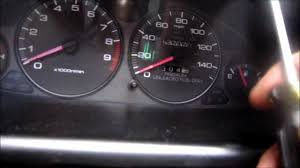 how to remove acura integra instrument cluster speedometer youtube