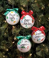 grandparent christmas ornaments a best grandparent ornament decorates the christmas tree with
