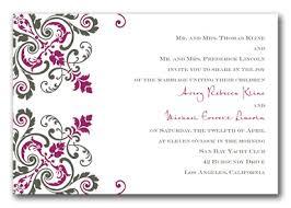 Simple Wedding Invitation Wording Second Wedding Invitation Wording Theruntime Com