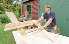 Plans To Build A Hexagon Picnic Table by How To Build A Picnic Table This Old House