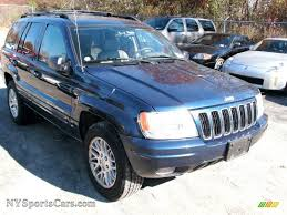 jeep dark blue 2003 jeep grand cherokee limited 4x4 in patriot blue pearl