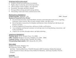 resume marvellous inspiration ideas financial resume 4 financial