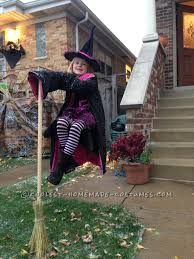 halloween illusion coolest homemade witch costumes