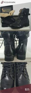 womens combat boots size 9 foldover combat boots s combat boots size 8 barely worn
