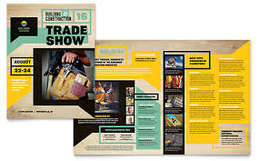 marketing brochure builder u0027s trade show brochure design