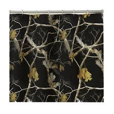 Realtree Shower Curtain Ap Black And White Camo Shower Curtain Free Shipping