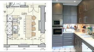 plans de cuisine ouverte plan cuisine ouverte salle manger plan de cuisine moderne plan