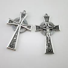 rosary crucifix 100pcs of religious inri rosary crucifix cross in pendants from