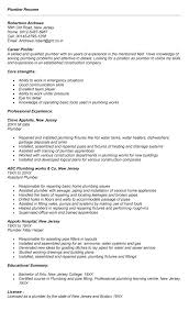 plumber sample resume unforgettable apprentice plumber resume