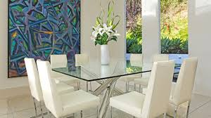 glass dining room sets impressive glass dining room table 15 shimmering square glass