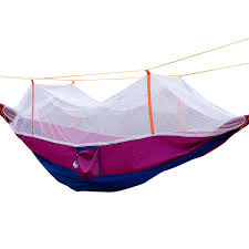 Travel Mosquito Net For Bed Pellor New Dichromatic Portable High Strength Parachute Fabric