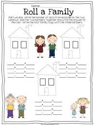 first grade fact family worksheets worksheets