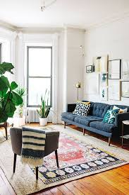 vintage livingroom a family of four shares their 800 square foot brooklyn apartment