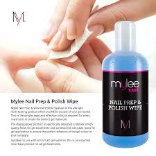 mylee prep and wipe nail gel polish cleanser cleaner uv led