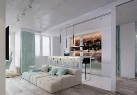 Studio Apartment Furnishing Ideas Designs By Style Light Mint Interior Color Scheme 4 Bright